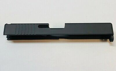 9mm Slide Gen 1,2,3, BLACK SLIDE for Glock 17 G17-OEM STYLE SLIDE -W/ Serr #689