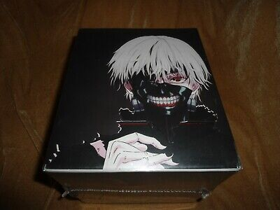 Tokyo Ghoul (2014): Complete First Season - Collector's Ed. [2 DVD + 2 Blu-ray]