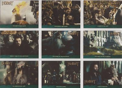 THE HOBBIT An Unexpected Journey The Lonely Mountains 18 Card Chase Set