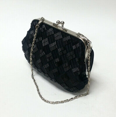ce828f8efd BIJOUX TERNER BEADED Small Evening Cocktail Purse Hand Bag Black ...