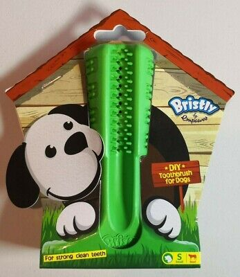 Bristly Small Brushing Stick Dog Toothbrush Chew Toy Teeth Oral Care Cleaning