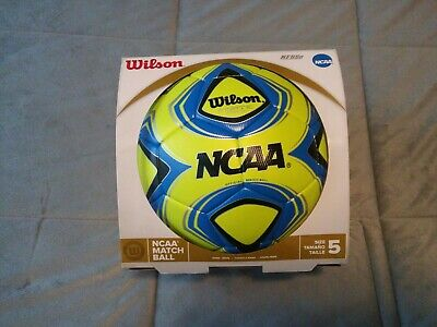 New FIFA A Quality Wilson Forte Fybrid NCAA Official Match Soccer Ball SZ 5  NFHS ad88c38b4