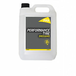 Tyre Gel High Gloss Dressing Silicone Tyre Shine Wet Look Black  5 Litre