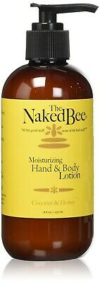 The Naked Bee Coconut & Honey Moisturizing Hand & Body Lotion 8 oz. - NEW FRESH