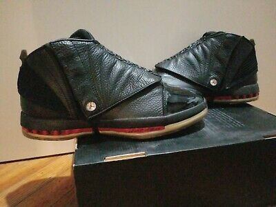 new product 2e6c5 2405b Nike Air Jordan 16 XVI CDP Black Red Bred Size 8 DeadstockPart of the 16