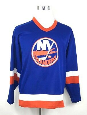 VINTAGE NEW YORK Islanders CCM Hockey Jersey Made In USA Size Small ... 02e14d37f