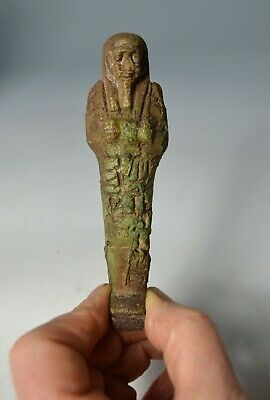 Good Ancient Egyptian Ushabti, Late Period Circa (664 - 332 BC)