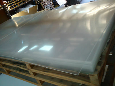 Acrylic sheet 1220x2440x3mm clear also known as Perspex UV stabilised