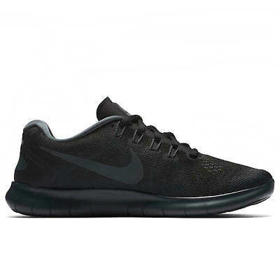 f0c098f90050 New Womens NIKE Free RN 2017 Running Trainers Black 880840 003 UK 9 EUR 44