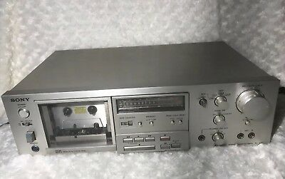 Vintage Sony TC-K61 Stereo Cassette Deck,tested working Good