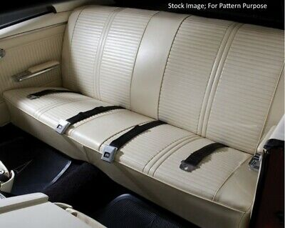 1968 PONTIAC LEMANS & GTO Bench Seat with Armrest Seat Cover