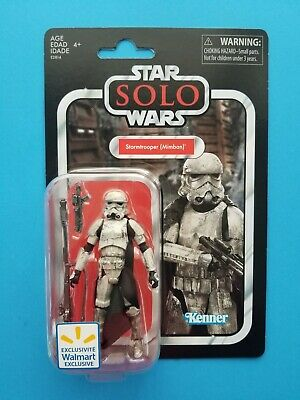 """Star Wars Vintage Collection TVC 3.75"""" SOLO Mimban Stormtrooper VC123 Near Mint"""