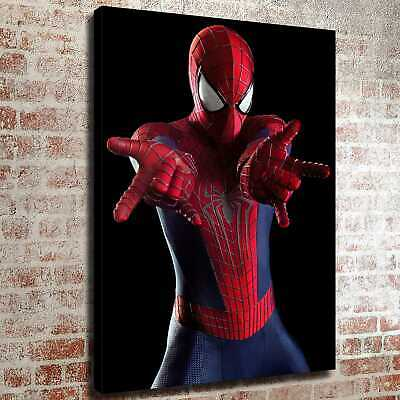 "12""x16""Amazing spiderman HD Canvas prints Painting Home decor Picture Wall art"