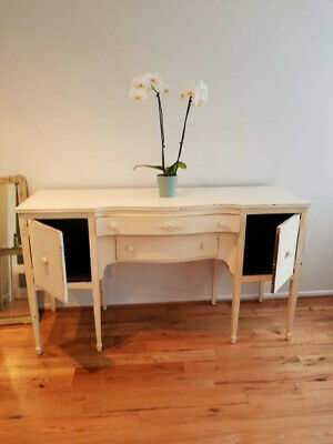 Large Vintage Shabby Chic Buffet