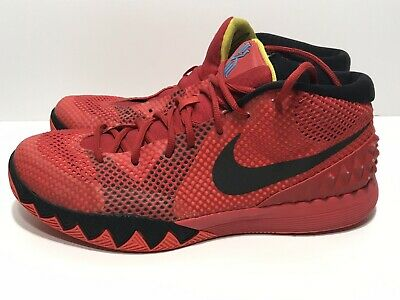 info for 327a9 a0c73 Nike Air Kyrie 1 Deceptive Red Black 705277- 606 Mens Size 13 Used! No