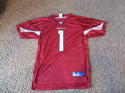 Neil Rackers  1 Arizona Cardinals Reebok NFL Football Jersey Youth XL 18-20 a343763a7