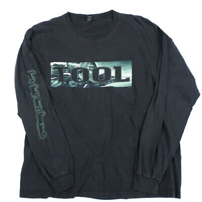 557f683d VINTAGE TOOL LATERALUS Long Sleeve T-shirt 2001 Rock Band Tour ...