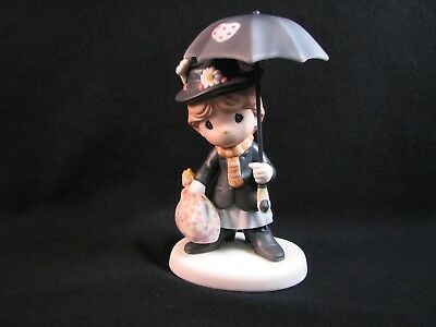 Precious Moments-Disney's Mary Poppins You're Practically Perfect-Extremely Rare