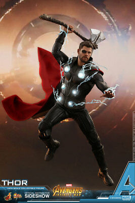 HOT TOYS Thor Avengers Infinity War 1/6 Scale Figure MINT NEW IN BOX!!!