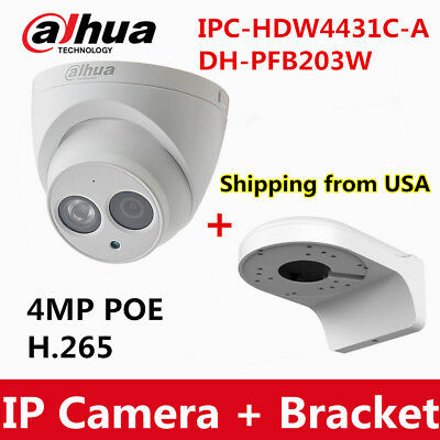 Dahua IPC-HDW4433C-A 4MP POE IR IP Dome Camera Built-in MIC Repla IPC-HDW4431C-A