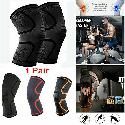 Knee Support Brace Strap Patella Compression Sleeve Leg Protector Running Sports