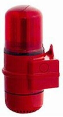 Mechtric SOUNDER WALL MOUNTING BASE 90V 100dB IP65 Protection RED *Aust Brand