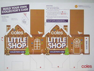 Coles Little Shop Christmas Edition Build Your Own Collector's Case