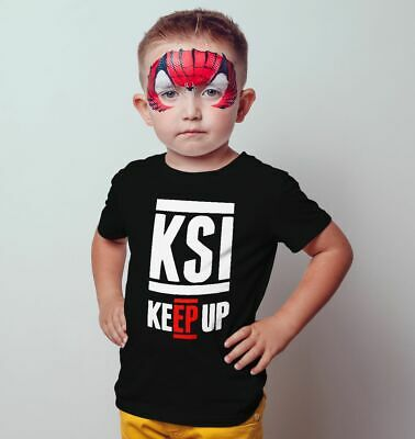 KSI Keep UP T Shirt Kids Gaming Star You Tuber