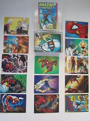 Marvel Spider Man II Amazing Fantasy Complete 90 Card Set 30th Anniversary 1992