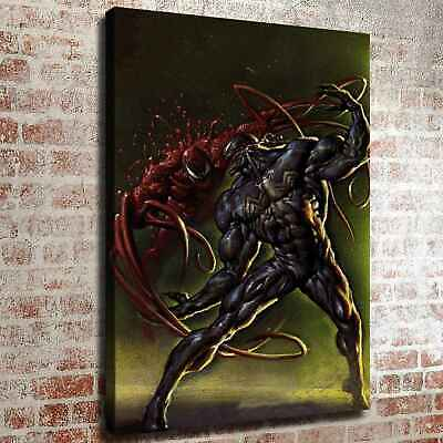 "12""x16""Venom Carnage Photos HD Canvas prints Painting Home decor Room Wall art"