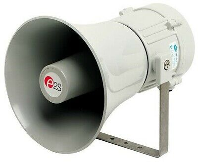 Mechtric ELECTRONIC HORN/BELL MEHESS8210 220mm 24V 121dB 5-Tones White*AUS Brand