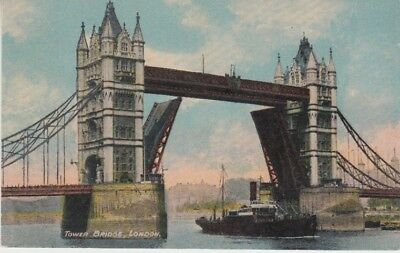 UK - The Tower Bridge, London (Post Card) 1930's