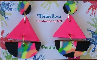 Bright dangle earrings Melvellous