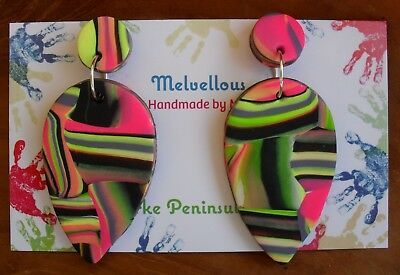 Colourful dangles Melvellous earrings