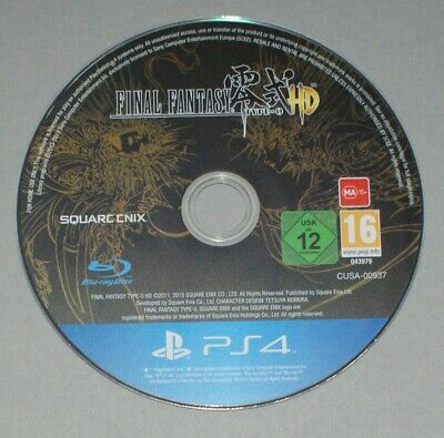 Final Fantasy Type 0 HD Disc Only - PS4 - Sony PlayStation 4 Game - Zero