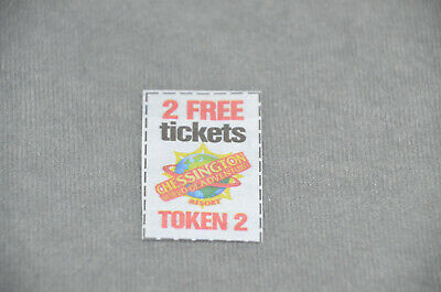 The Sun Promotion Chessington World Of Adventures Spare Token No. 2 For Tickets