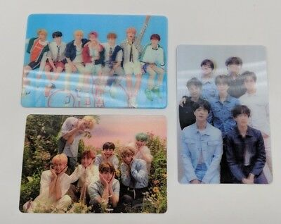 BTS Group LENTICULAR Special Official Photocard Love Yourself TEAR HER ANSWER