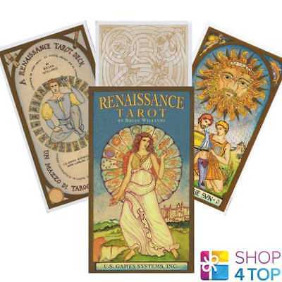 Renaissance Tarot Deck Cards By Brian Williams Esoteric Us Games Systems New