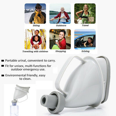 Portable Car Emergency Traffic Travel Outdoor Adult Urinal for Man Woman Child