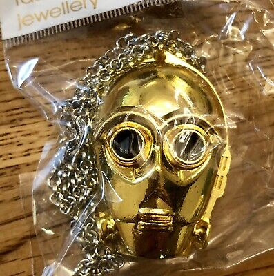 Star Wars C-3PO Pendant Necklace (Free UK Post)