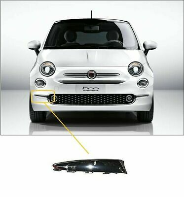Fiat 500 2015-  Front Bumper Moulding Chrome Driver Side High Quality New