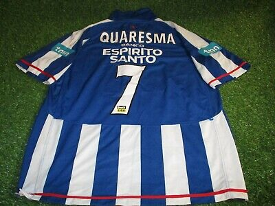 fc porto portugal football soccer extra large mans quaresma no7 home jersey