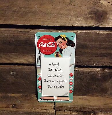 Coca Cola Magnetic notepad Officially License product. Coke, Diet Coke. 50,s