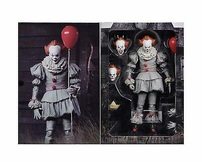 Action Figure clown IT movie NECA 90/'s version Ultimate Pennywise 1990 7in