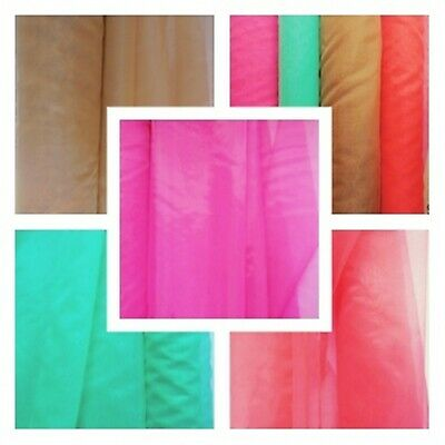 SHEER ORGANZA FABRIC Voile Curtain Wedding Material  Per Metre 150cm Wide