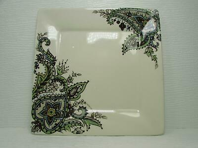 Misto Angela by Tabletops Unlimited Dinner Plate Floral Paisleys On Cream L275
