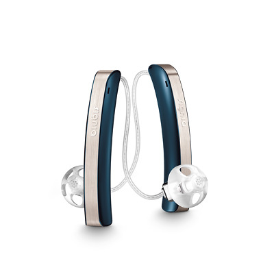Pair new Signia Siemens Styletto 7 rechargeable hearing aids + charger