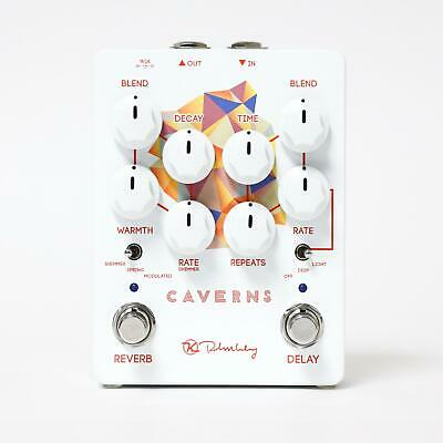 Keeley Caverns V2, Delay and Reverb with Switchable Trails/True Bypass Switching