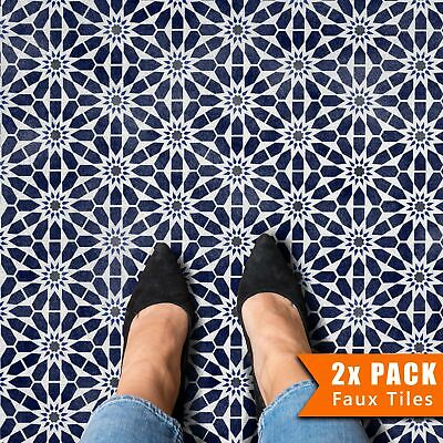 Mzoura Hexagon Geometric Wall Floor Tile Stencil