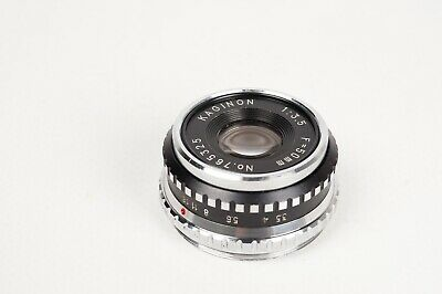 Objetivo ampliadora Kaginon 1:3.5 50mm / Enlager Lens - 39mm screw mount